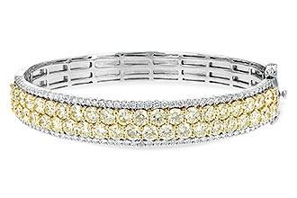 G226-30662: BANGLE 8.17 YELLOW DIA 9.64 TW